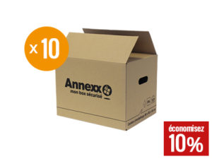 Cartons livres lot de 10