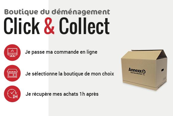 Boutique du déménagement Click&Collect